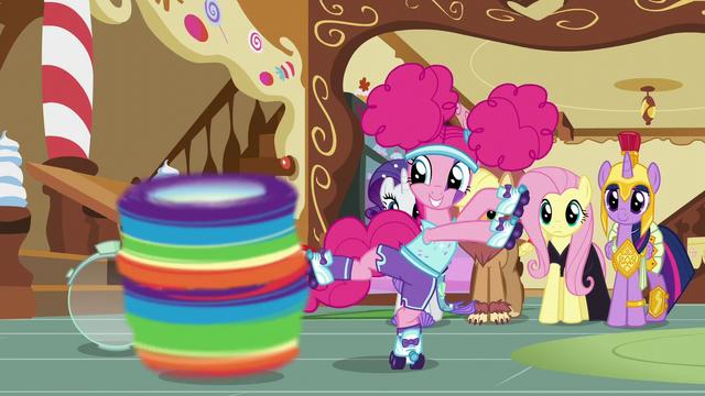 File:Pinkie Pie spins Rainbow Dash around S5E21.png