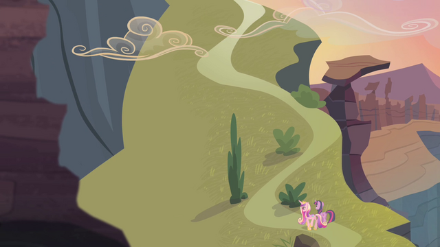 File:Twilight and Cadance walking towards the top of the hill S4E11.png