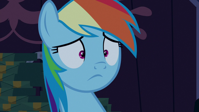 File:Rainbow Dash with a blank stare S6E15.png