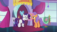 "Rarity ""the Princess Dress has been discontinued"" S5E14"