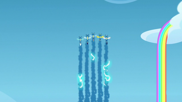 File:Wonderbolts makes electrically-charged smoke trails S7E7.png