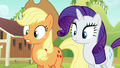 Applejack and Rarity in surprise S6E10.png