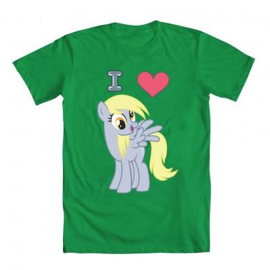File:Merchandise T-Shirt I Heart Derpy Green.jpg
