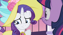 Rarity quick thoughts S2E9