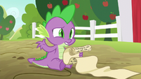 "Spike ""maybe not the best plan"" S6E10"