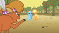 Little Strongheart calls Rainbow and Applejack S1E21.png