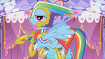 Rainbow Dash's custom Gala dress S1E14