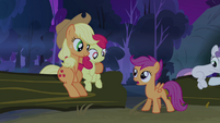 Scootaloo 'time for bed yet, is it?' S3E06