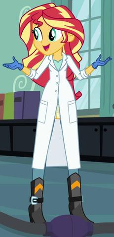 File:Sunset Shimmer lab coat ID EG3.png