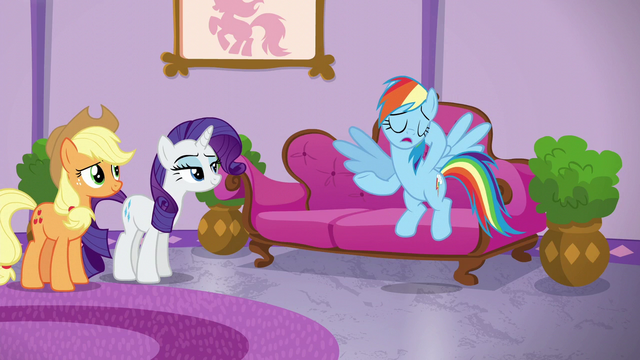 "File:Rainbow Dash ""they're totally not"" S6E10.png"