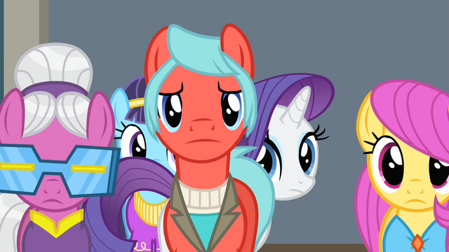 File:Rarity walking behind some ponies S4E08.png