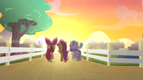 CMC walking towards sunset S4E05