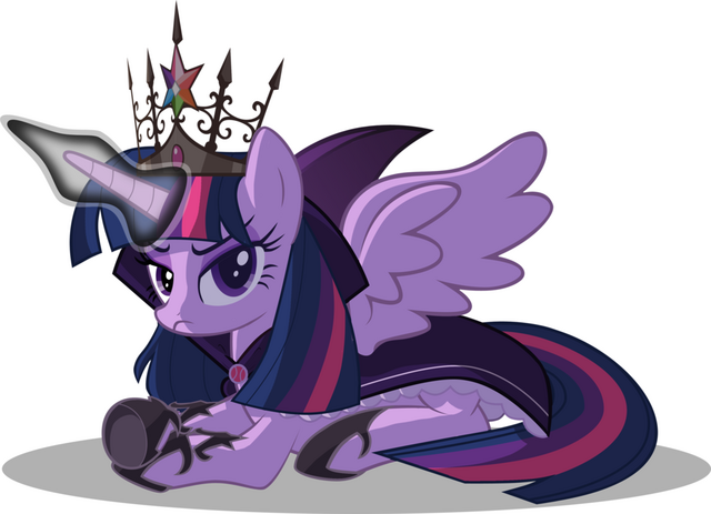 File:FANMADE Dictator Twilight Sparkle.png
