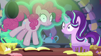 Starlight Glimmer hears Harry roaring S6E21