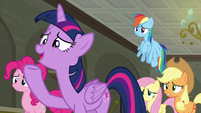 "Twilight Sparkle ""we're workin' on it!"" S6E9"