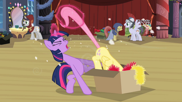 File:Twilight pulling Fluttershy out of box 2 S2E11.png