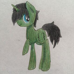 FANMADE Bracket pony OC