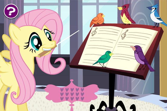 File:Fluttershy's Songbird Chorus screenshot - hard difficulty.png