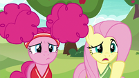 "Fluttershy ""you want us to play buckball"" S6E18"