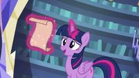 "Twilight Sparkle ""prepared a full day of spells"" S6E21"