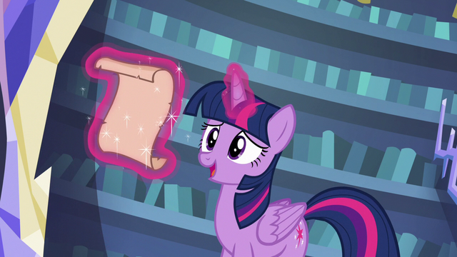"File:Twilight Sparkle ""prepared a full day of spells"" S6E21.png"