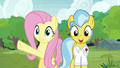 Fluttershy presents the sanctuary to Dr. Fauna S7E5.png