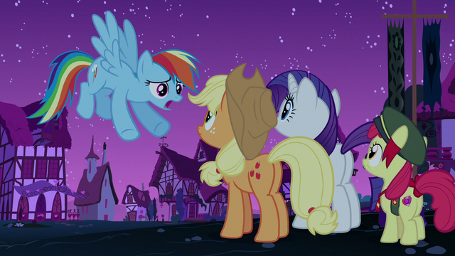 "File:Rainbow Dash ""it's still early, right?"" S6E15.png"