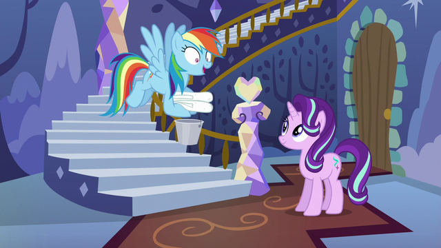 "File:Rainbow Dash ""yes, Starlight Glimmer"" S6E21.png"