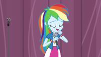 Rainbow Dash clears her throat EG3