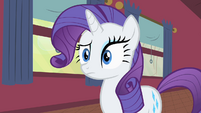 Rarity watching Applejack reassure Bloomberg S1E21