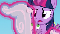 Twilight forms a ball-shaped piece of cloud S5E26