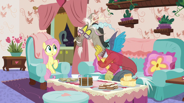 """File:Discord """"the secret is in the extra butter"""" S7E12.png"""