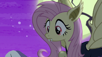 Flutterbat notices the ponies' fear S5E21