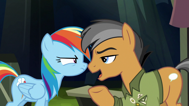 """File:Quibble """"we're actually being held captive"""" S6E13.png"""