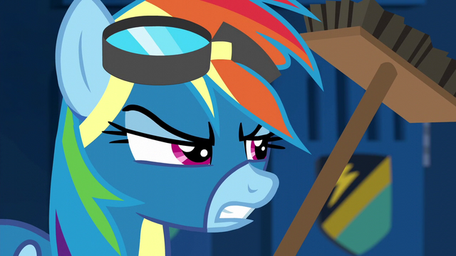 File:Rainbow Dash getting annoyed S6E7.png