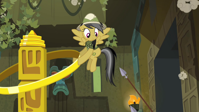 File:Spears poking at Daring Do S4E04.png