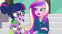 Cadance promises to talk to Celestia about Twilight's transfer EG3
