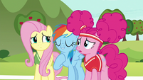 "Rainbow Dash ""more importantly, us!"" S6E18"