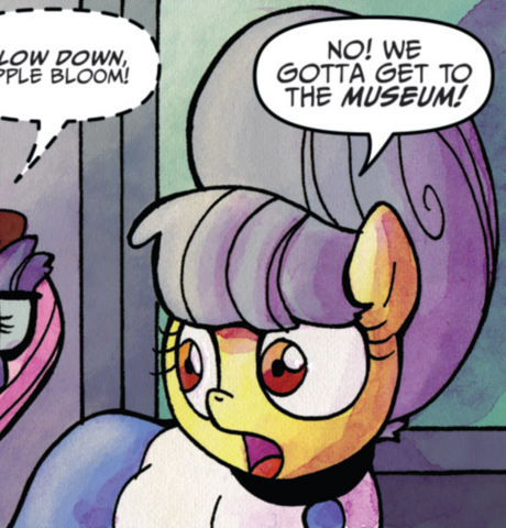 File:Comic issue 22 Apple Bloom Manehattan disguise.png
