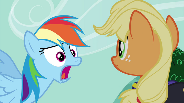 "File:Rainbow ""and no apples!"" S4E21.png"
