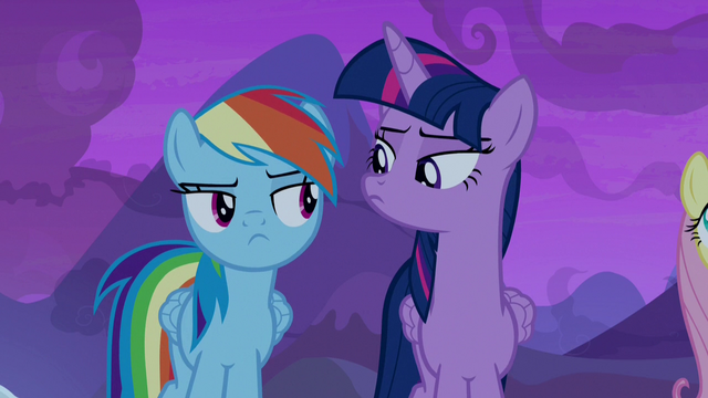 File:Twilight and Rainbow Dash look at each other S7E11.png