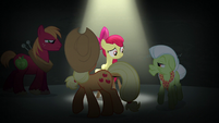Apple family circles Apple Bloom S5E4