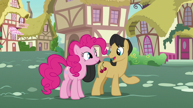 "File:Cherry Fizzy ""the most honest pony there is?"" S7E9.png"