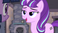 "Starlight Glimmer ""we're happy to have anypony"" S5E1"