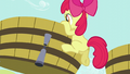 Apple Bloom climbs into grape trough S5E17.png