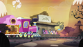 Mane 6 and Maud at rock farm train station S4E18.png
