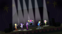 Rainbow Dash's grand entrance EG2