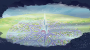Storm clouds surrounding the Crystal Empire S6E2.png