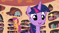 "Twilight ""to pass on my love of learning"" S4E15"