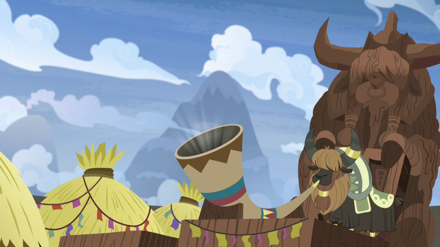 File:Yak blowing Yickslurbertfest ceremonial horn S7E11.png